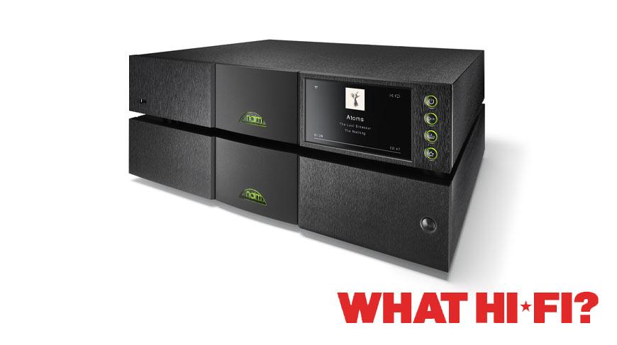 What Hi-Fi? | ND555/555 PS DR | 5 Star Review | Naim Audio