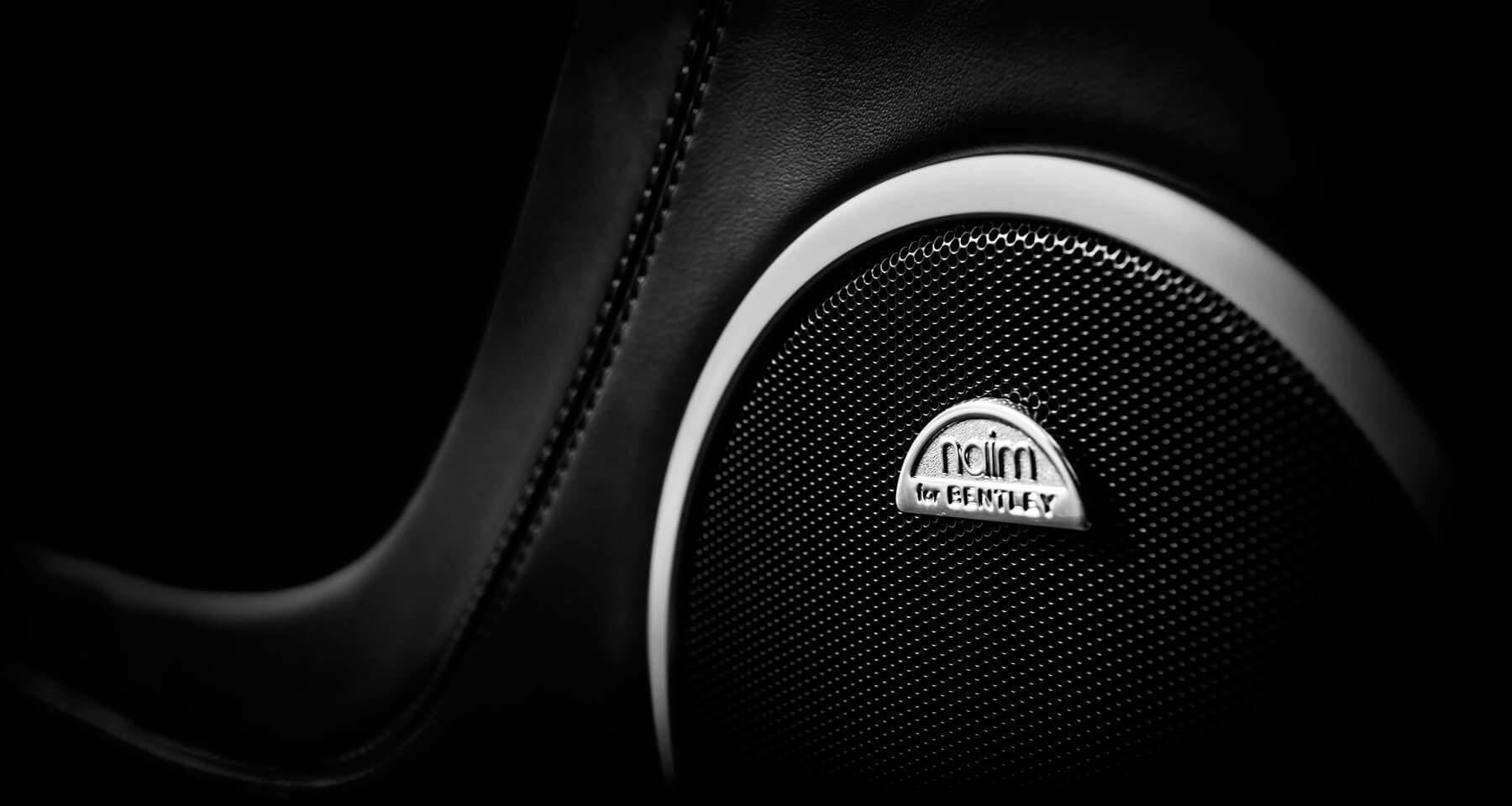 Naim Audio's custom-built car audio system for Bentley Motorcars.