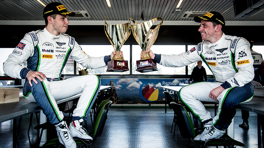 Bentley GT3 Team Wins