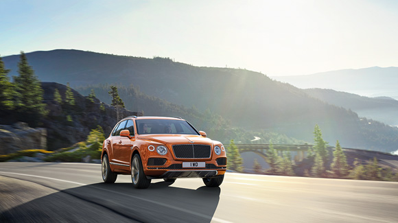 Bentley Bentayga SUV - Naim Audio