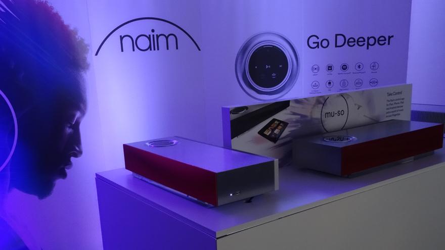 Naim Audio Mu-so at CES 2015