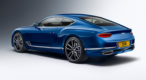 Bentley Motors Reveals Their New Continental GT | Naim for