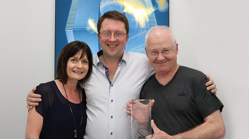 Debbie Stanton, Trevor Wilson and Chris Murphy