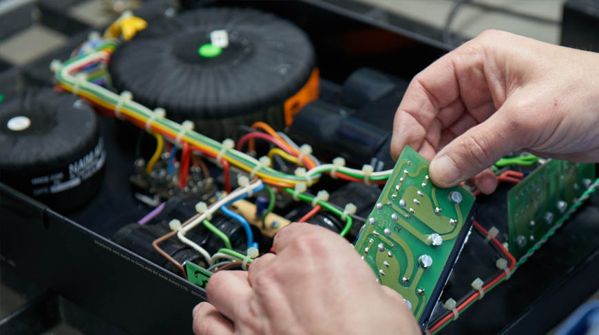 Naim Service Department - Hands