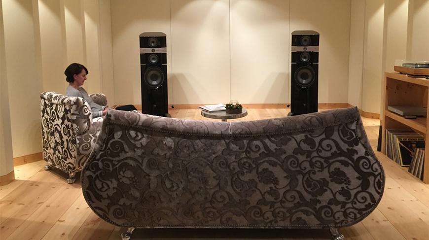 St Moritz SoundVision Showroom