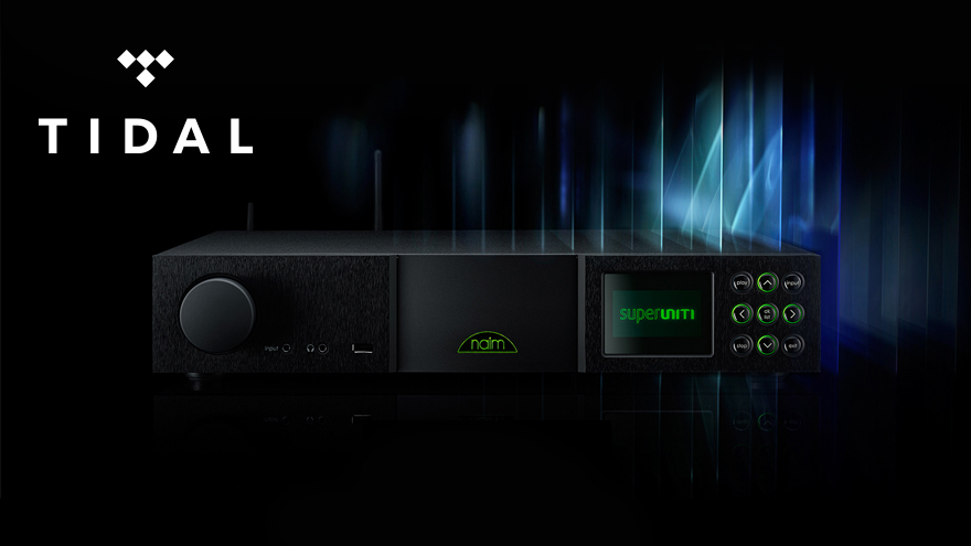 TIDAL Arrives for Naim Streamers