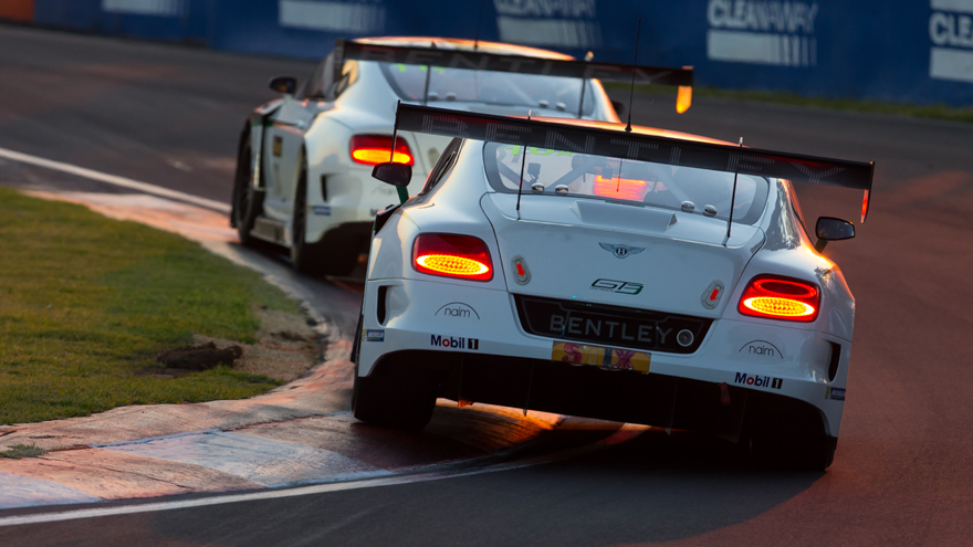 bentley gt3 naim audio partnership - paul ricard