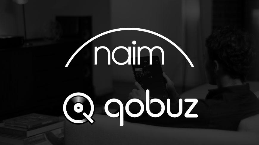 Naim Audio et Qobuz vous offre leur services streaming en hi-res.