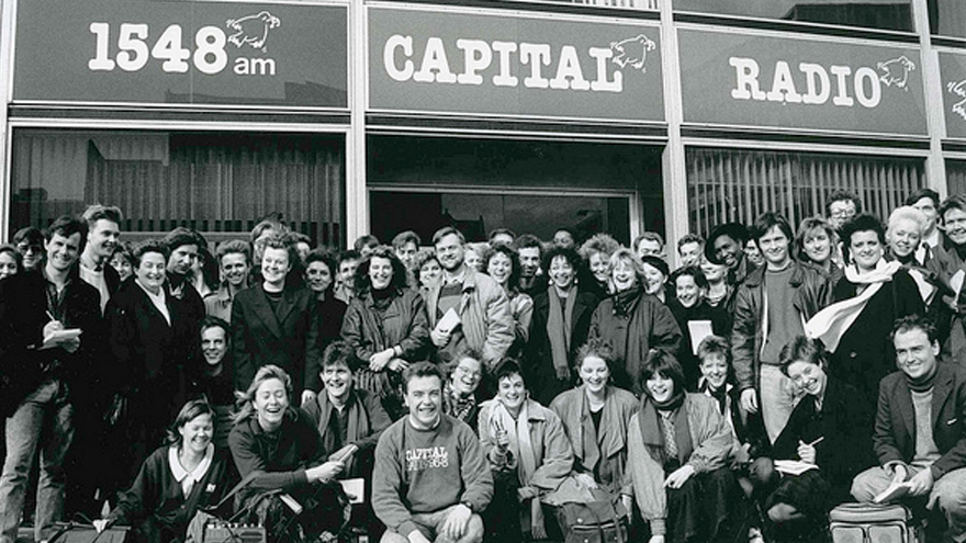 1972 A first start at Capital Radio
