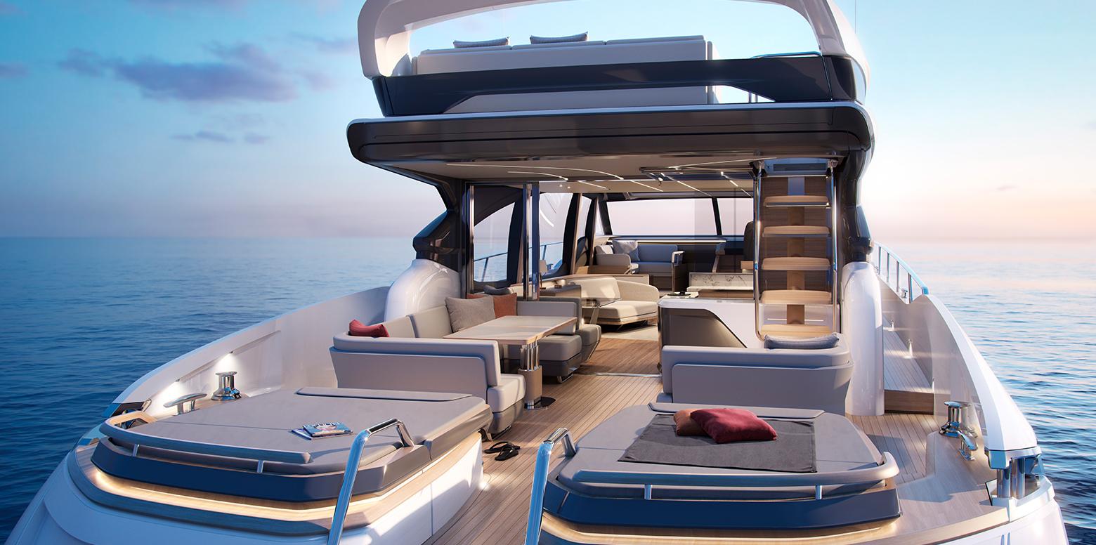 Naim for Princess Yachts - Princess S78