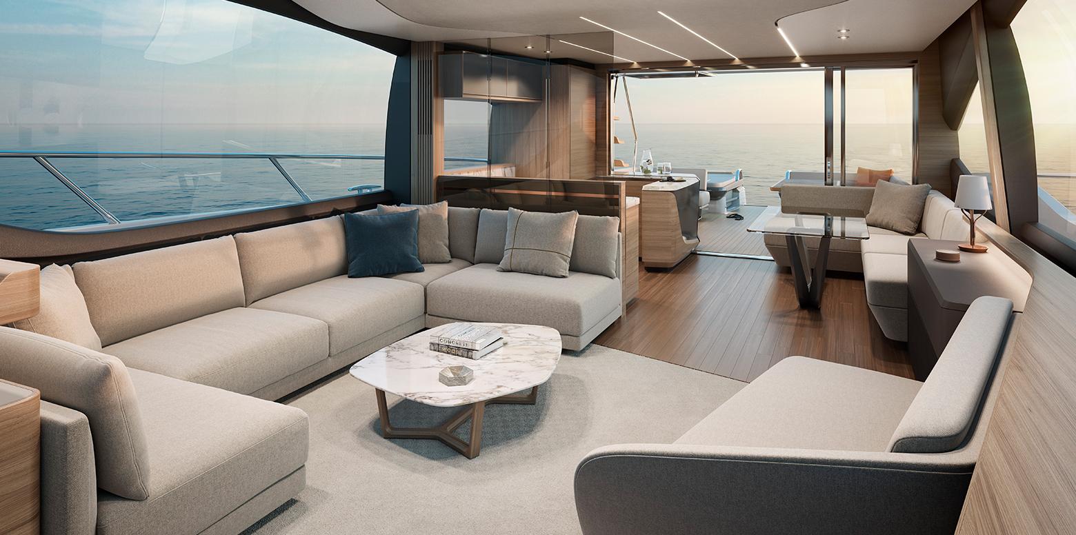 Princess S78 Naim For Princess Yachts