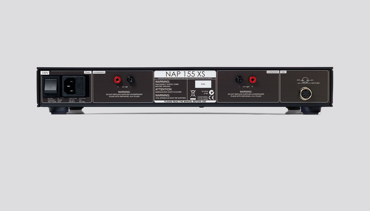 NAP 155 XS Power Amplifier