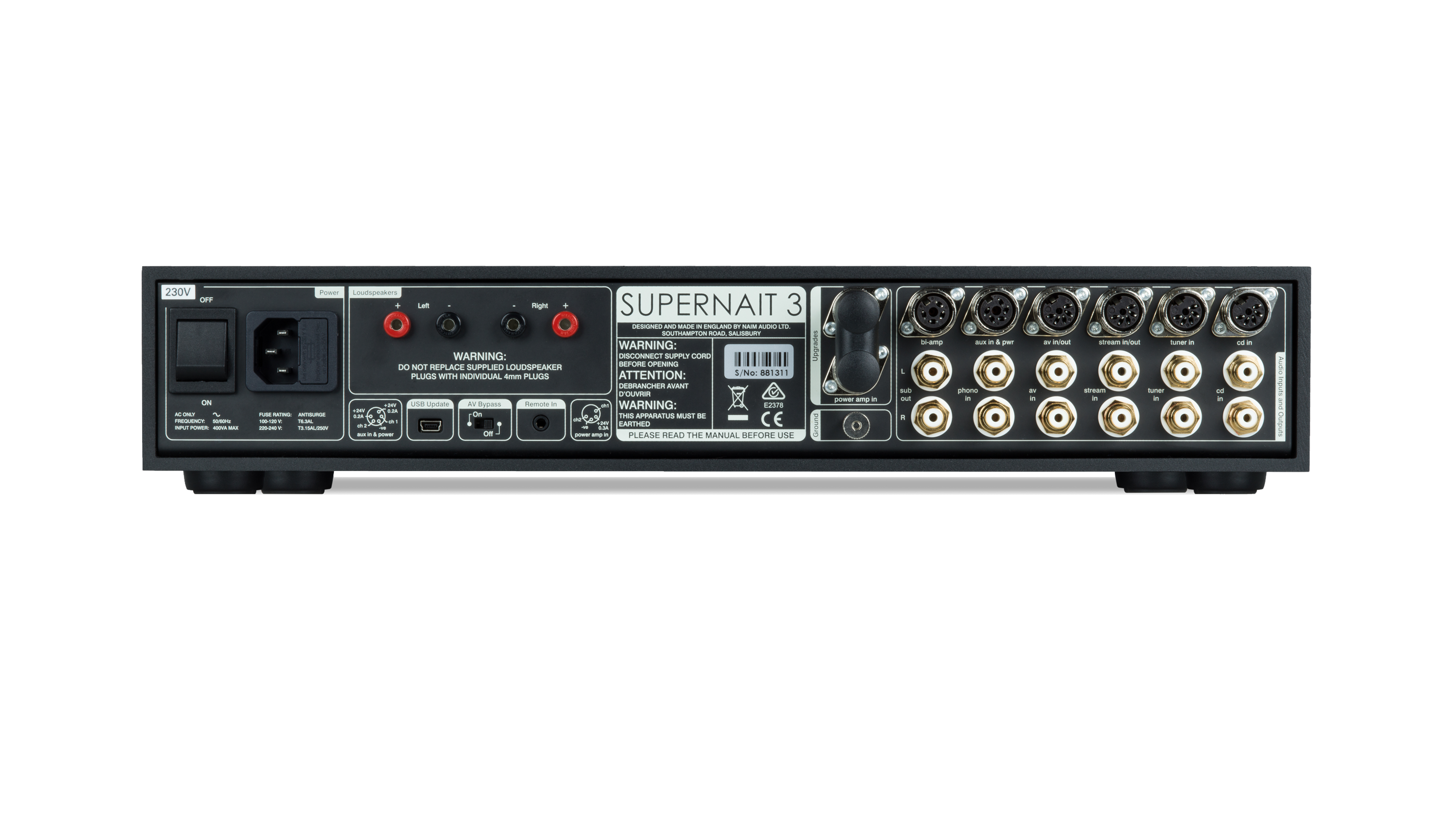 SUPERNAIT 3 Integrated Amplifier