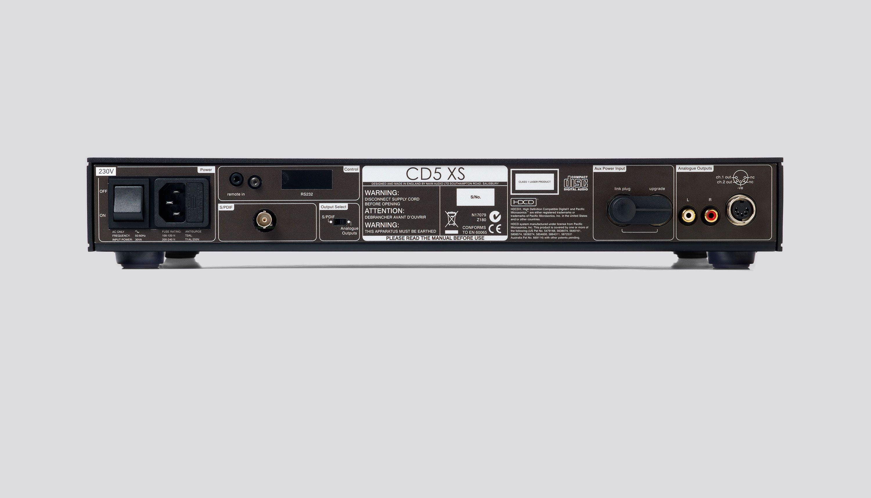 CD5 XS cd player