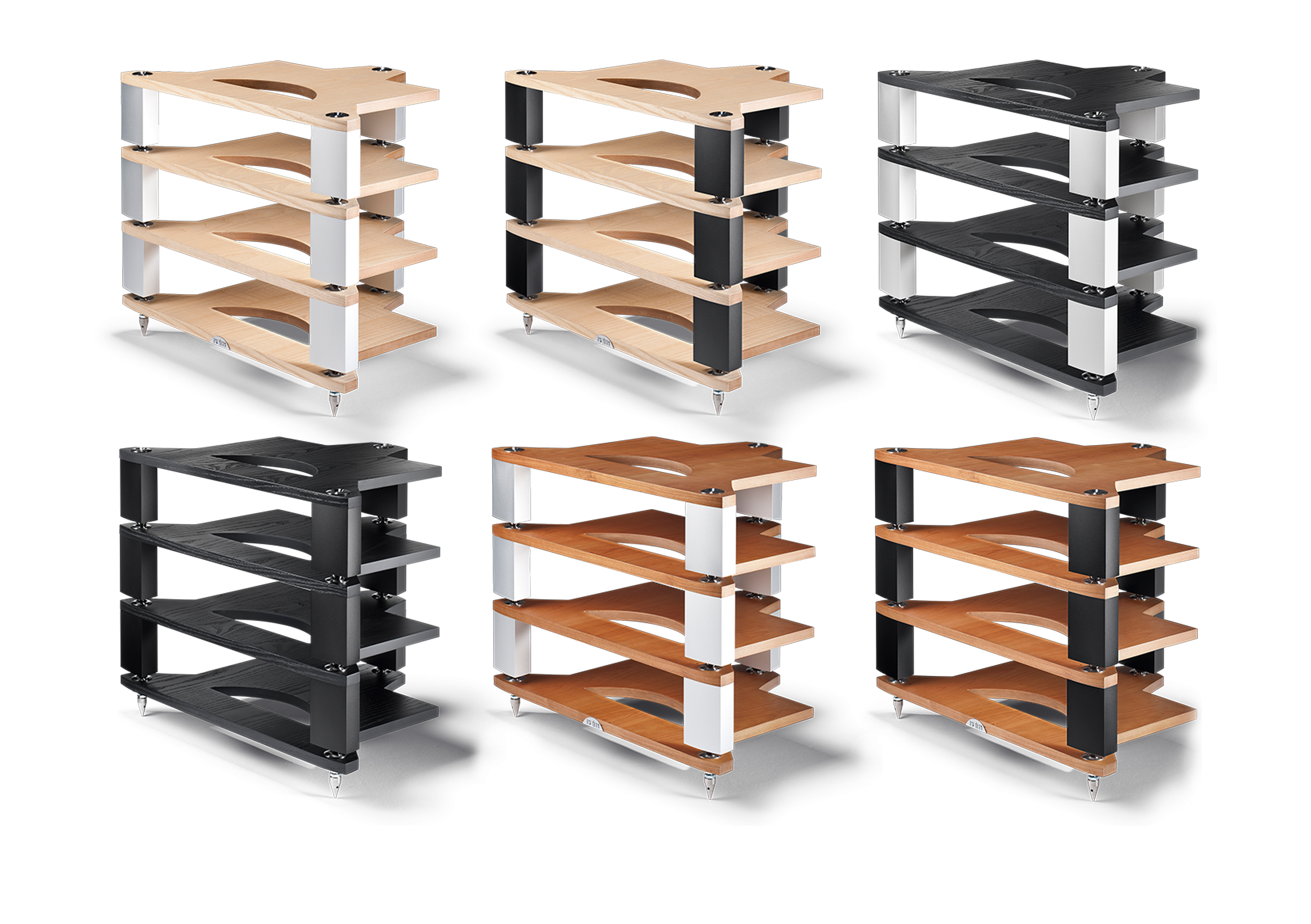 FraimLite Hifi Racks - Colour Range