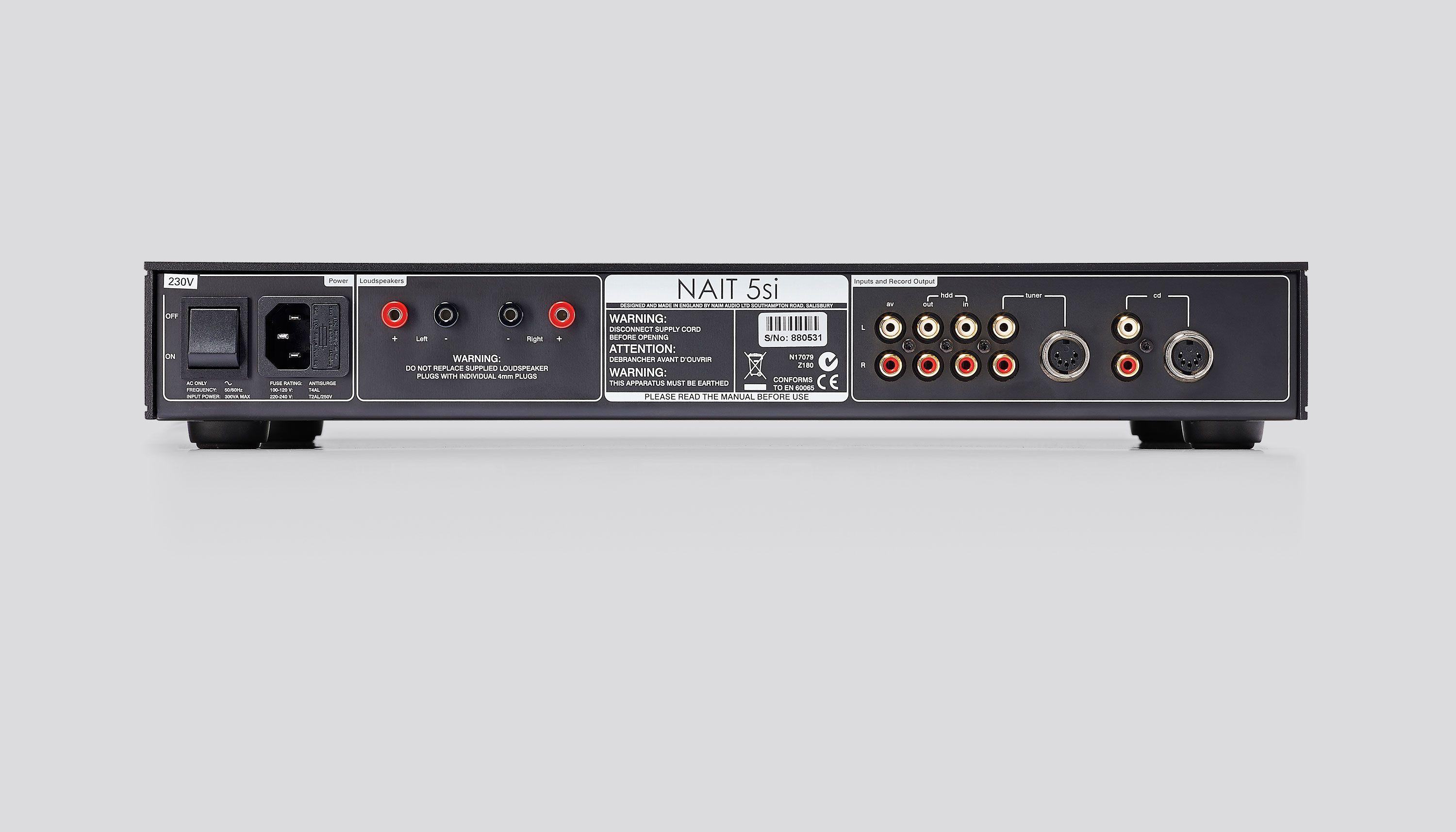 NAIT 5si Integrated Amplifier