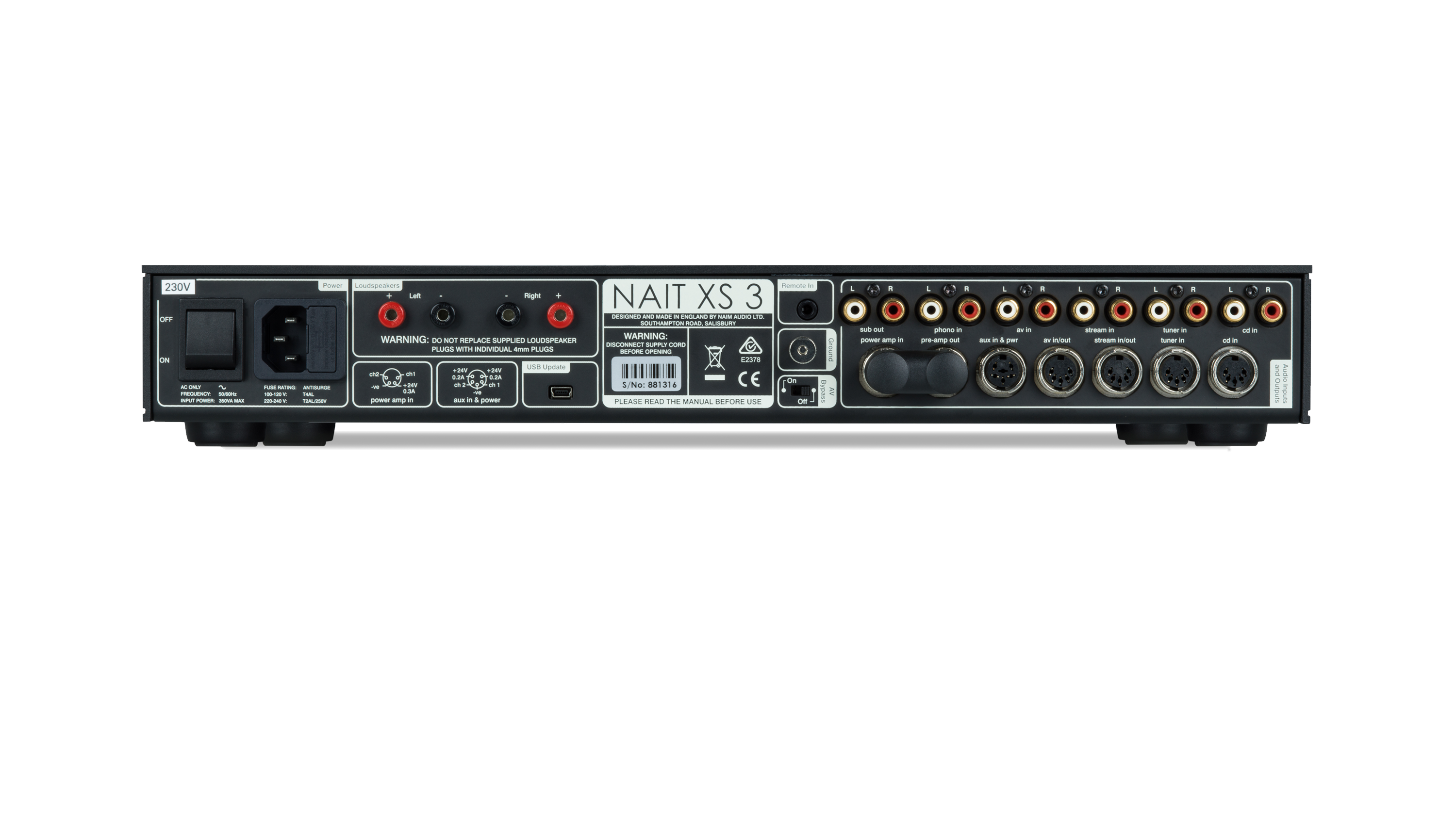 NAIT XS 3 Integrated Amplifier
