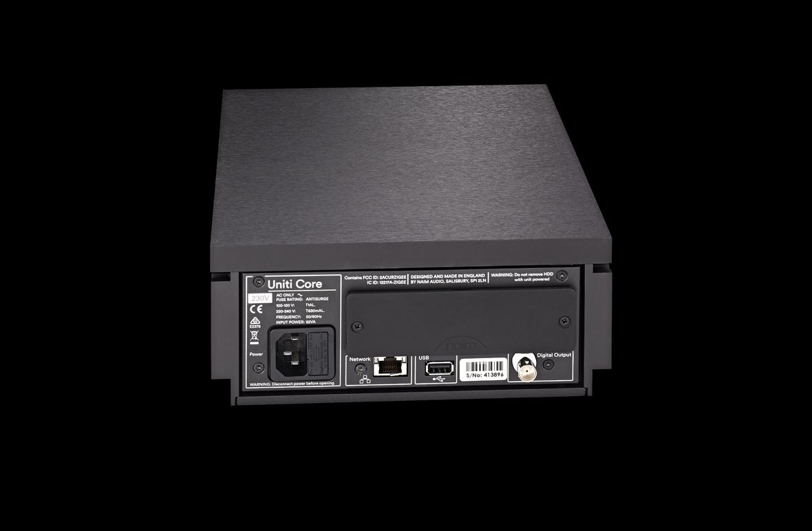 Uniti Core - HDD Music Server | Naim Audio